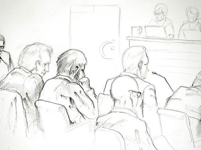 Akilov visar ingen ånger i rätten