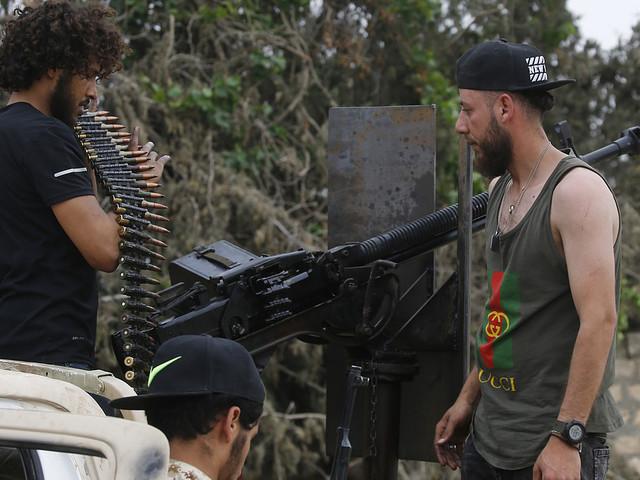 Libysk krigsherre säger nej till eldupphör