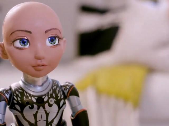 Möt roboten Sophias lillasyster Little Sophia