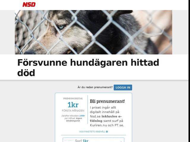 Försvunne hundägaren hittad död