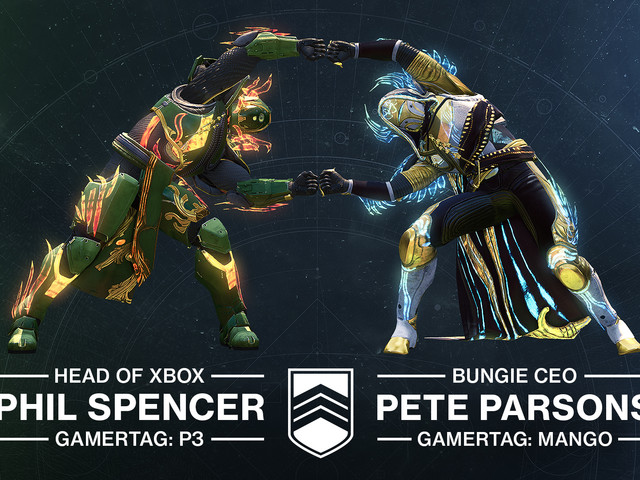 Phil Spencer spelar Destiny 2 med Pete Parson