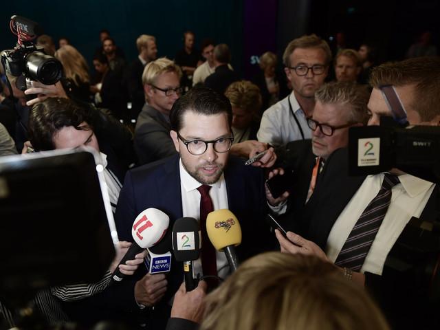 Jimmie Åkesson bojkottar SVT