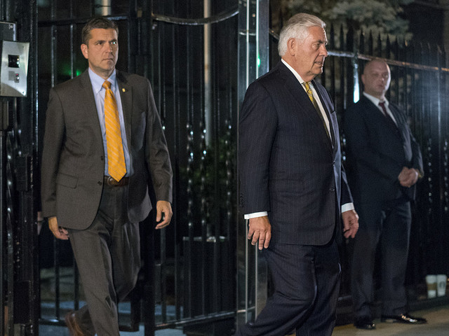 Tillerson och Lavrov möttes i New York