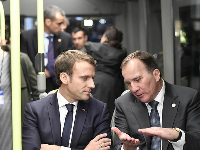 Löfven och Macron drar i gång grönt samarbete