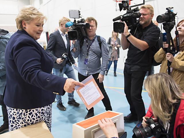 Høyre i ledning i Norge