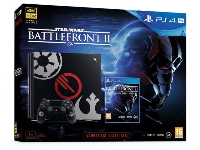 Playstation 4-konsol med Battlefront II-motiv utannonserad