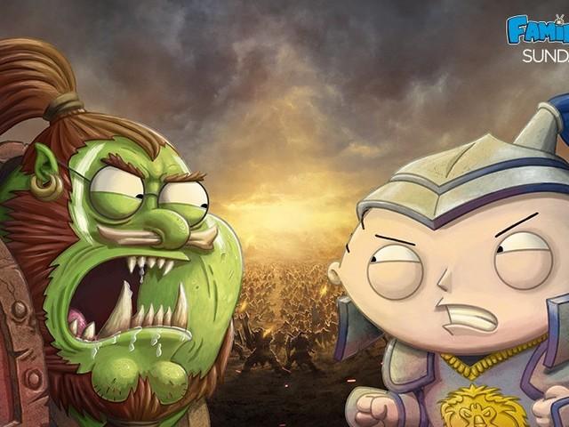 World of Warcraft-inspirerad Family Guy-episod på söndag