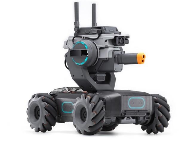 DJI lanserar programmerbara robotfordonet RoboMaster S1