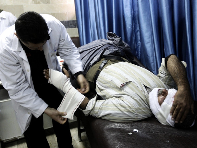 Larm: Sjukvårdare måltavla för syriska armén