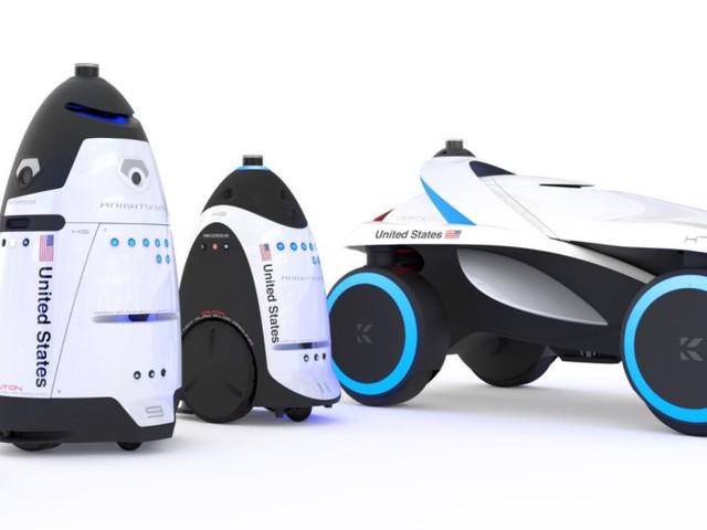 Knightscope avtäckte nya säkerhetsrobotarna K1 och K7
