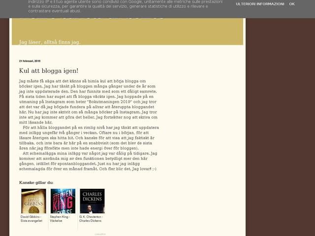 Kul att blogga igen!