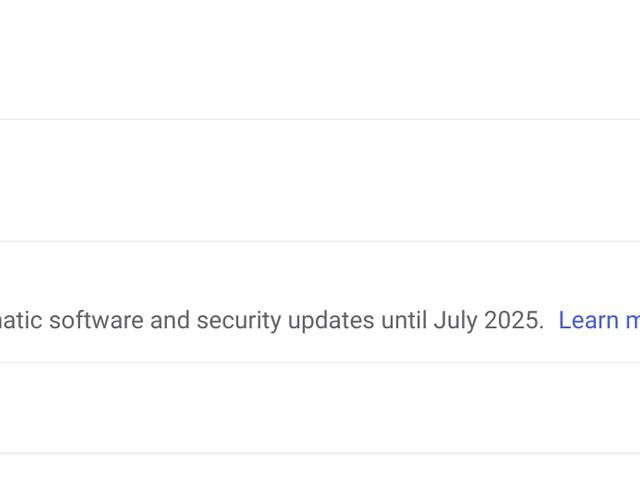 Chromebooks kommer snart säga när de slutar få uppdateringar