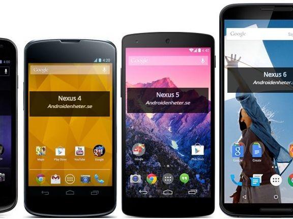 Vilken Nexus-telefon var mest lyckad för sin tid?
