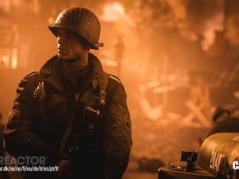 Vrålstark premiär för Call of Duty: WWII i Storbritannien