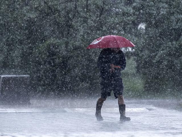 SMHI: Kraftiga skyfall i Mellansverige