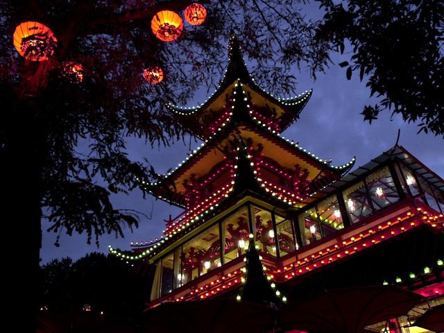 Sushi tar över efter Kiin Kiin i Japanska tornet på Tivoli