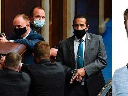Skakande rapporter inifrån det stormade Kapitolium