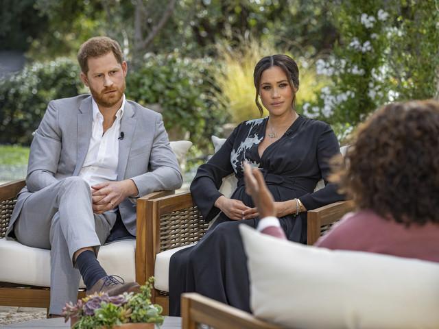 Meghan och Harry pratar ut hos Oprah