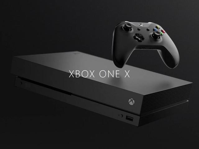 Microsoft öppnar för förbokning av XboxOne X