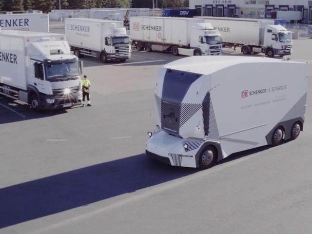 Självkörande lastbilar får nu köra på allmän väg i Jönköping