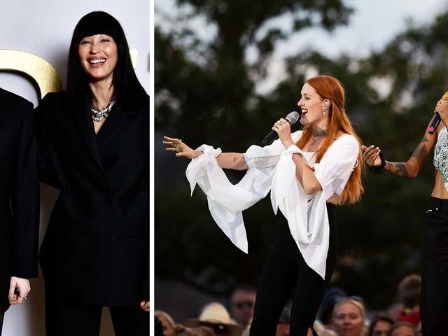 Bebislycka: Icona Pop-stjärnan har fått barn