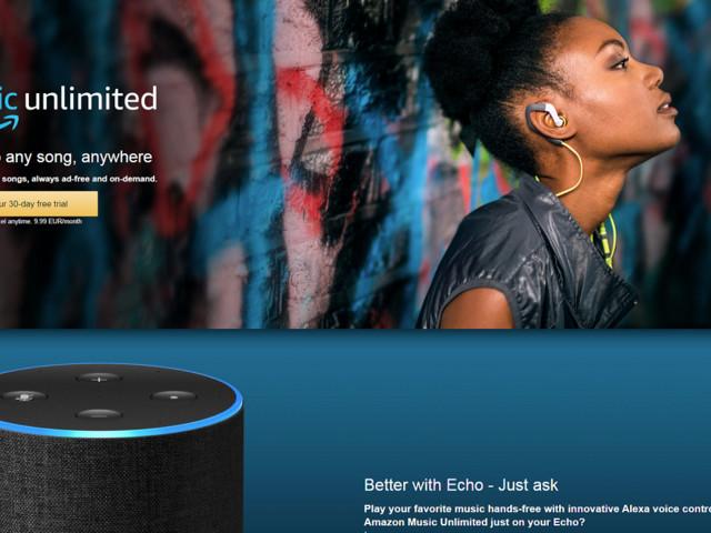 AmazonMusicUnlimited och Echo kommer till Sverige