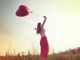 Ensamma och lyckliga på Alla hjärtans dag