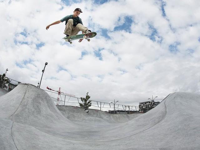 Malmökille är världsmästare i skateboard