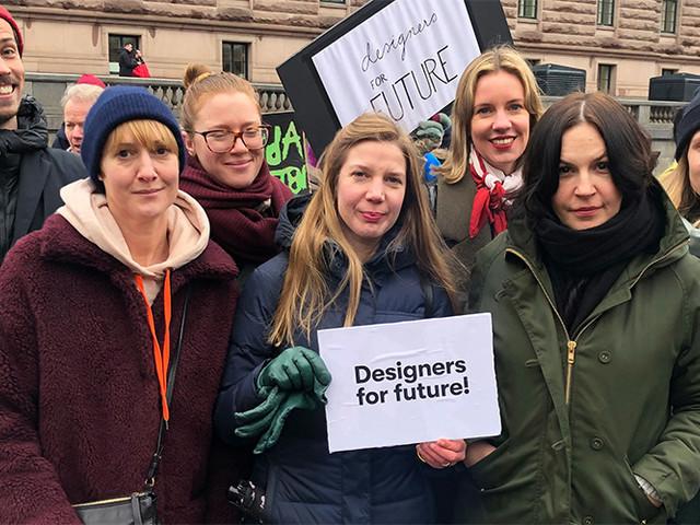 Designers strejkar för klimatet – uppmanar branschen till gemensam insats