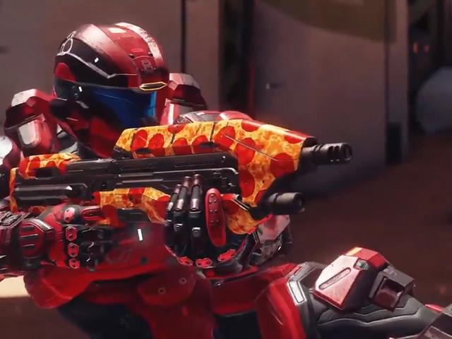 343 Industries bjuder Halo-fansen på digital pizza