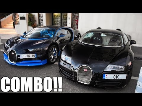 Veyron träffar Chiron i Monaco