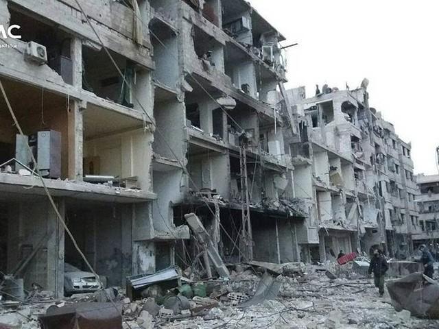 Uppgifter om strider trots vapenvila i Ghouta