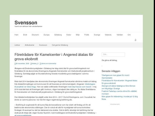 Företrädare för Kamelcenter i Angered åtalas för grova ekobrott