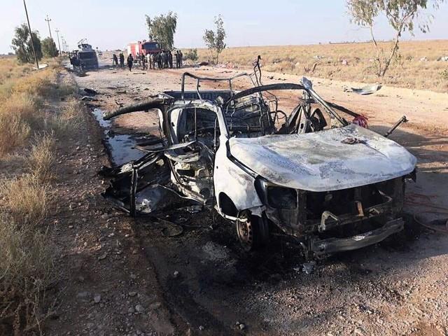 Israel anklagas för drönarattack i Irak