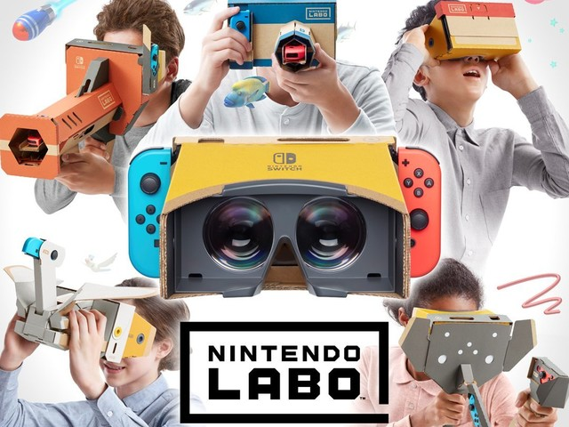Nintendo visar upp hur Labo VR fungerar