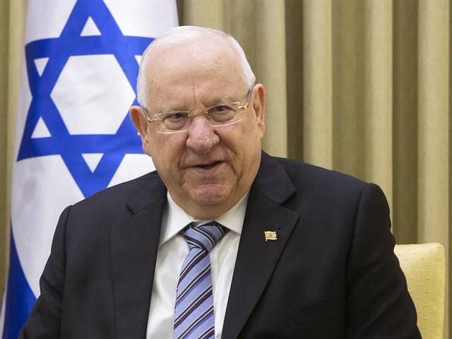 Israels president oroad av Trump-utspel
