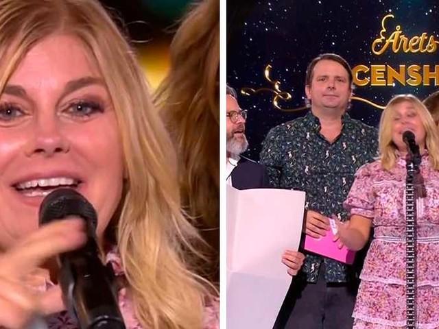 Wahlgren i tårar efter känslosamma inslaget