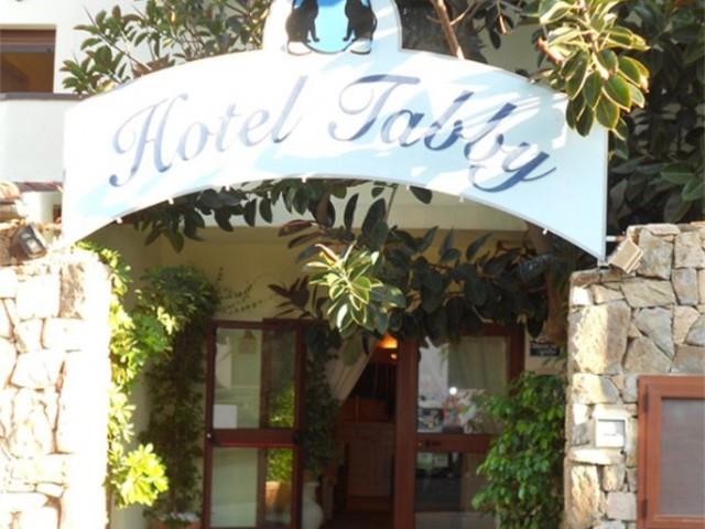 Hotel Tabby i Golfo Aranci med havsutsikt nära stranden