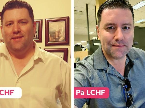 Adam fick kämpa hårt för att hålla vikten – tills han började med LCHF