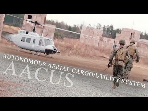 Amerikanska militären testar självflygande helikopter