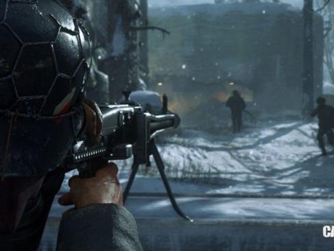 Call of Duty: WWII fortsätter dominera Storbritannien