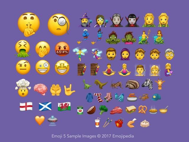 Unicode 10 färdigställs – erbjuder 56 nya emojis