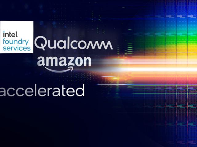 Amazon och Qualcomm intresserade av kretstillverkning hos Intel