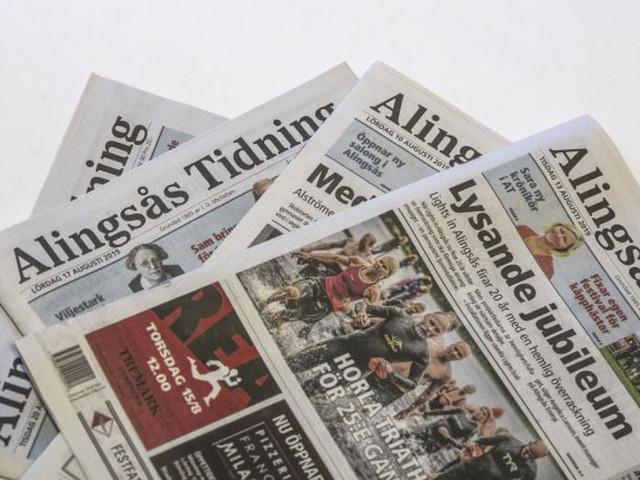 Alingsås Tidning stoppar utgivningen igen
