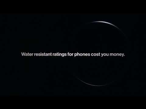 OnePlus visar att 7-serien är vattentålig