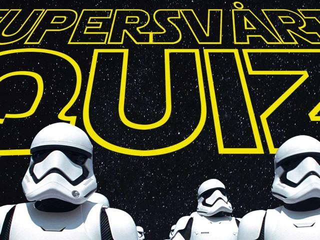 Testa: Kan du mest om Star Wars?