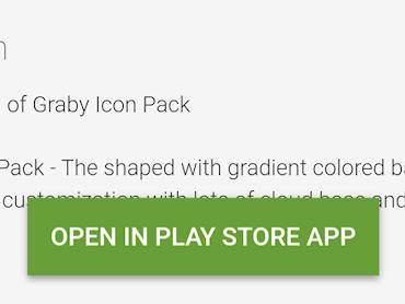 Ny knapp gör att du alltid kan få upp appar i Play Store-appen