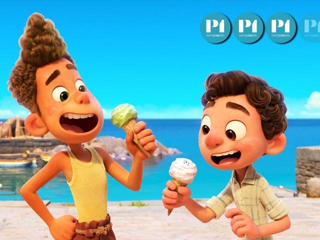 Recension: Animerade filmen Luca från Pixar