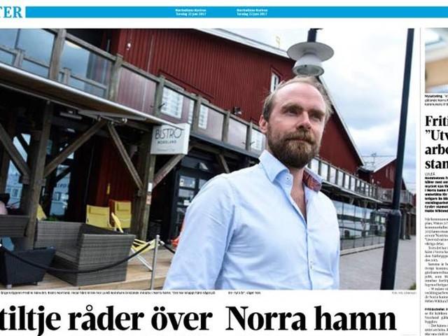 """Norra hamn: """"De får permanenta bygglov"""""""