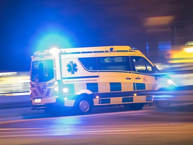 Lastbil körde in i hotellentré i Göteborg